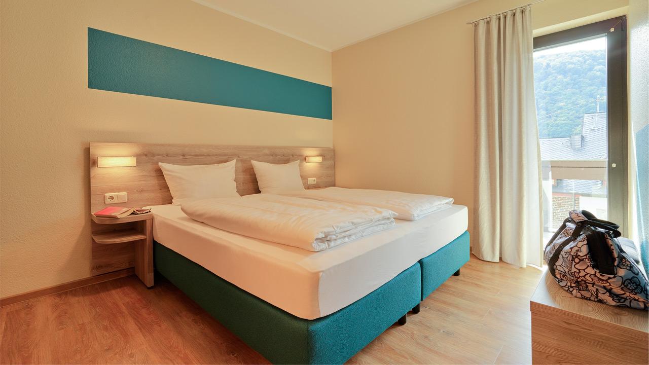 FeWo Goldgrübchen - Schlafzimmer