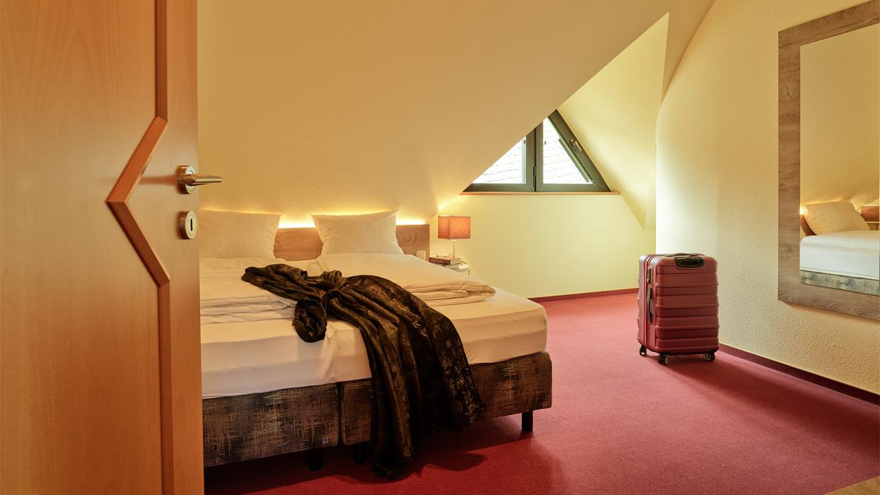 FeWo Rosenhang - Schlafzimmer